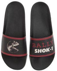 Bally - Shok-1 X Swizz Beatz Printed Sandals - Lyst