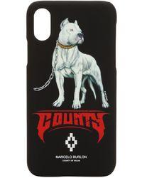 Marcelo Burlon - Dogo Printed Iphone X Case - Lyst