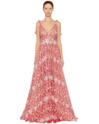 Luisa Beccaria - Floral Embroide - Lyst