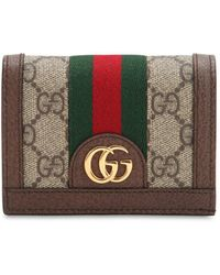 Gucci - Ophidia Gg Supreme Snap Card Holder - Lyst