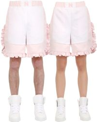Nicopanda | Ruffled Satin Shorts | Lyst
