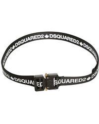 DSquared² - 25mm Logo Printed Belt - Lyst