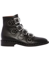Givenchy - 20mm Prue Studded Leather Ankle Boots - Lyst