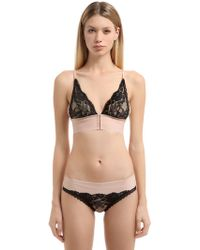 Stella McCartney - Bella Admiring Lace Soft Cup Bra - Lyst