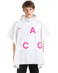Nike - Lab Acg Packable Poncho - Lyst