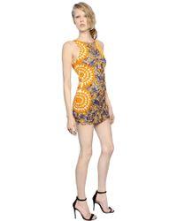 Pat Bo - Embellished Organza Open Back Dress - Lyst