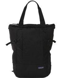 a2e0b2663f49 Patagonia 28l Lightweight Black Hole Gear Tote Bag in Black for Men ...