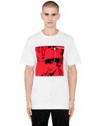 CALVIN KLEIN 205W39NYC - T-shirt In Jersey Di Cotone - Lyst