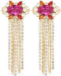 Anton Heunis - Crystal Cluster Earrings - Lyst