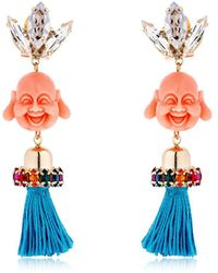 Anton Heunis - Pandora's Box Happy Buddha Earrings - Lyst