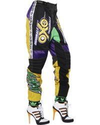 Jeremy Scott for adidas - Modal Twill Jersey And Mesh Pants - Lyst