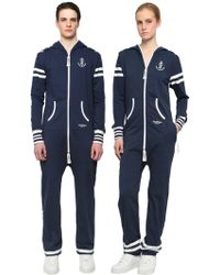 OnePiece - Cotton French Terry Naval Jumpsuit - Lyst