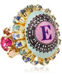 Bijoux De Famille - Small Funky Dollar Ring - Lyst