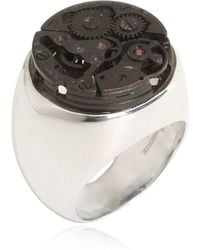 Cantini Mc Firenze - Sterling Silver Steampunk Chevalier Ring - Lyst