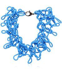 Alienina   Odyssee Rubber Necklace   Lyst