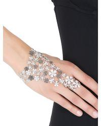 Colette - Flower Hand Bracelet - Lyst