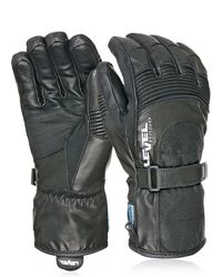 Level - Bomber Soft Leather Ski Gloves - Lyst