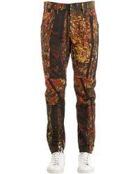 G-Star RAW - Elwood Tree Printed Tapered Denim Jeans - Lyst