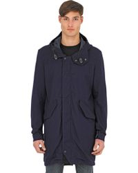 Spiewak - Fishtail Anderson Cotton Canvas Parka - Lyst