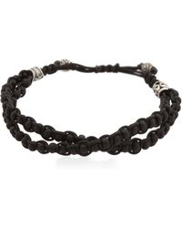 Cantini Mc Firenze - Beaded Cord Bracelet - Lyst
