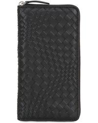 John Richmond - Leather Continental Zip Around Wallet - Lyst