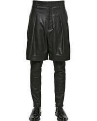 Givenchy - Shorts In Nappa Leggera - Lyst