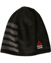 57591cb66f9 Lyst - Reebok Crossfit Printed Wool Blend Hat in Black for Men