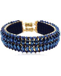 Only Child | Blue Flash Crystal Collar | Lyst