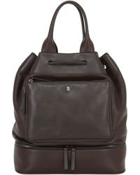 Trussardi - Leather Bucket Bag - Lyst