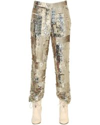 Chloé - Sequin Embroidered Pants - Lyst