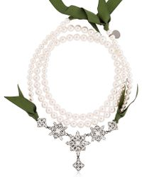 Ellen Conde - Brilliant Jewellery Crystal Necklace - Lyst