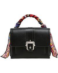 Paula Cademartori Black leather petit Faye bag WACmh0