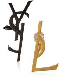 Saint Laurent - Monogramme Set Earrings - Lyst