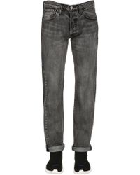 "Levi's - ""Jeans Tapered """"501"""" In Denim Lavato Stretch"" - Lyst"