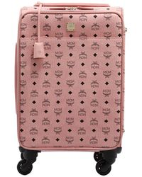 MCM - Small Carry-on Suitcase - Lyst