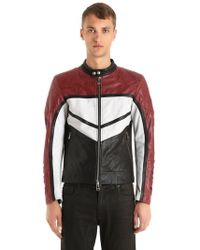 Belstaff - Morleigh Leather Biker Jacket - Lyst