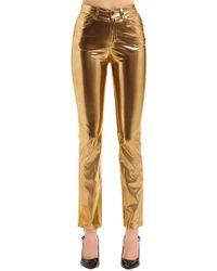 Fiorucci Yves Cigarette Metallic Pants