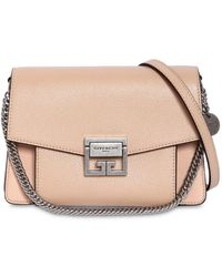 Givenchy - Small Gv3 Grained Leather Shoulder Bag - Lyst