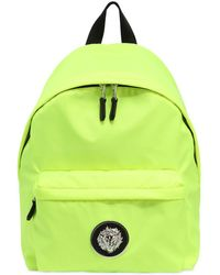 Versus - Lion Plaque Nylon Backpack - Lyst