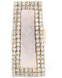 Rosantica - Incantesimo Stone & Crystal Ring - Lyst