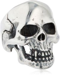 """Cantini Mc Firenze - Anello """"skull"""" - Lyst"""
