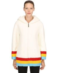Burberry - Craven Hooded Terrycloth Coat - Lyst