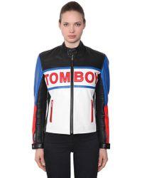 Filles A Papa - Tomboy Leather Jacket - Lyst