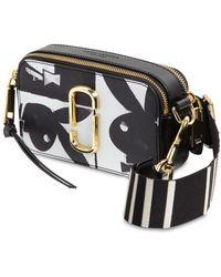 Marc Jacobs - Snapshot Playboy Leather Shoulder Bag - Lyst