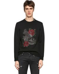 The Kooples - Embroidered Wool Blend Jumper - Lyst