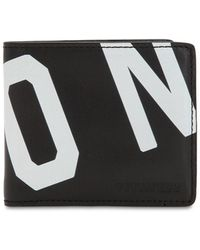 DSquared² - Icon Printed Leather Classic Wallet - Lyst