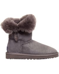 UGG - Bailey Button Shearling Boots - Lyst