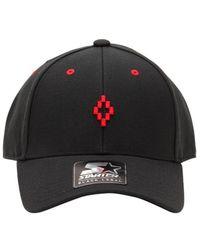 5aaa02acac4 Marcelo Burlon - Starter Cruz Wool Blend Baseball Hat - Lyst