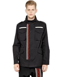 Ports 1961 - Tapestry Band Bonded Cotton Field Jacket - Lyst