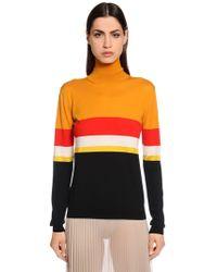 Vionnet - Wool Knit Sweater - Lyst